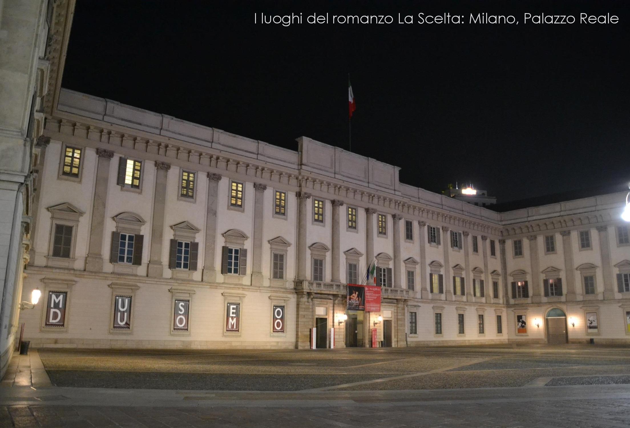 Palazzo Reale, Milano - Luoghi del romanzo La Scelta di Morgane Mentil